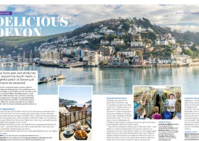 Delicious Devon – Flight Time magazine