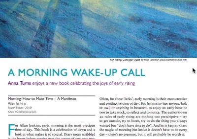 A morning wake-up call – Resurgence and Ecologist magazine