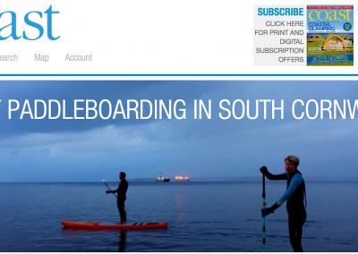 Night paddleboarding in South Cornwall – Coast magazine