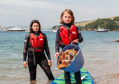 My daughter and I paddled 22 miles, picking up plastic. Here's what we found – The Guardian